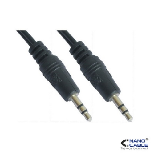 Nanocable - cable audio estereo de