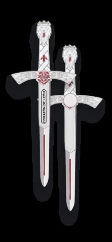 Imán Mini Espada Ricardo Corazón De