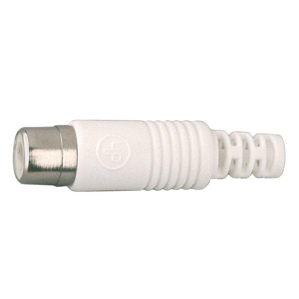 Conector RCA coaxial Hembra para cable
