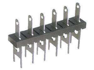 Regleta de conexión para circuito impreso