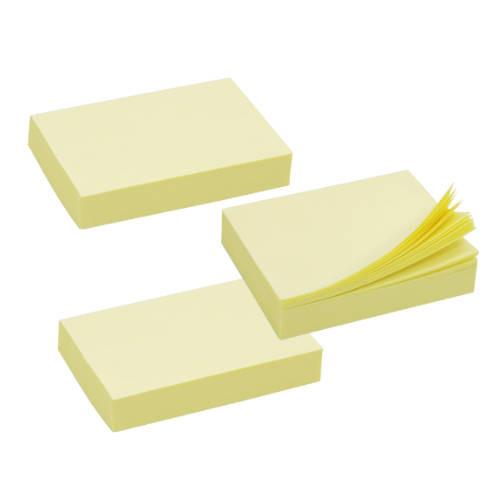 Taco notas adhesivas amarillas 38x51 mm