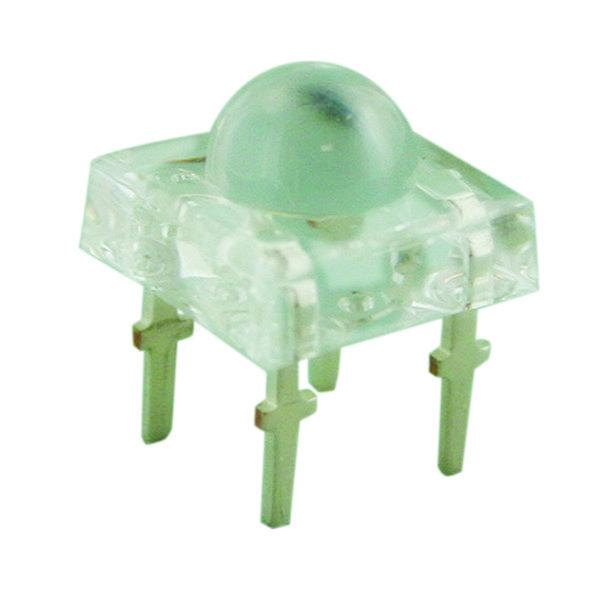 LED 5 mm tipo piraña cuadrado