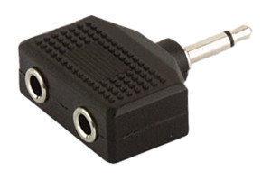 Adaptador mono 3.5 mm a