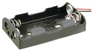 Portapilas AA R06x2 Con Cables  2