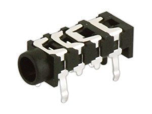 Jack hembra estéreo de 3`5 mm
