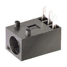 Base alimentación miniatura, para circuito impreso