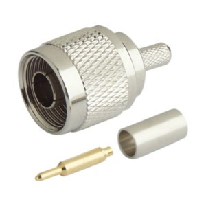 Conector N Macho Para Cable Rg58