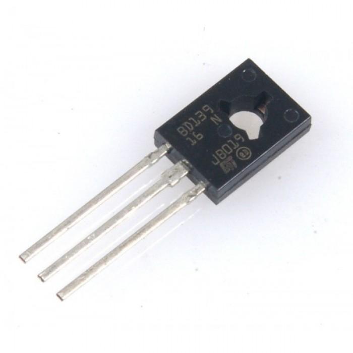 Transistor Bd139 Npn 80v 1,5a