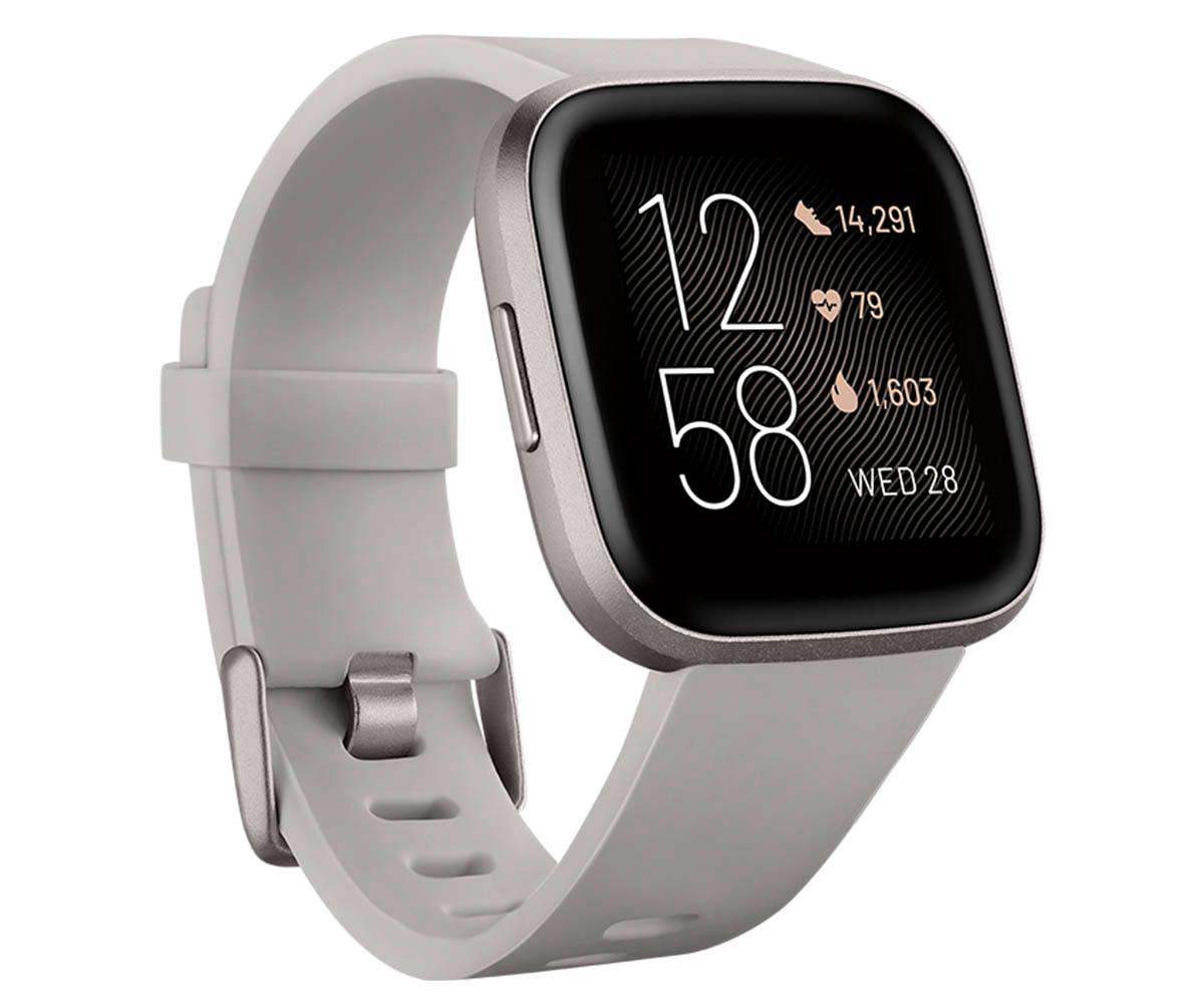 Fitbit fb507gysr versa 2 piedra/aluminio smartwatch