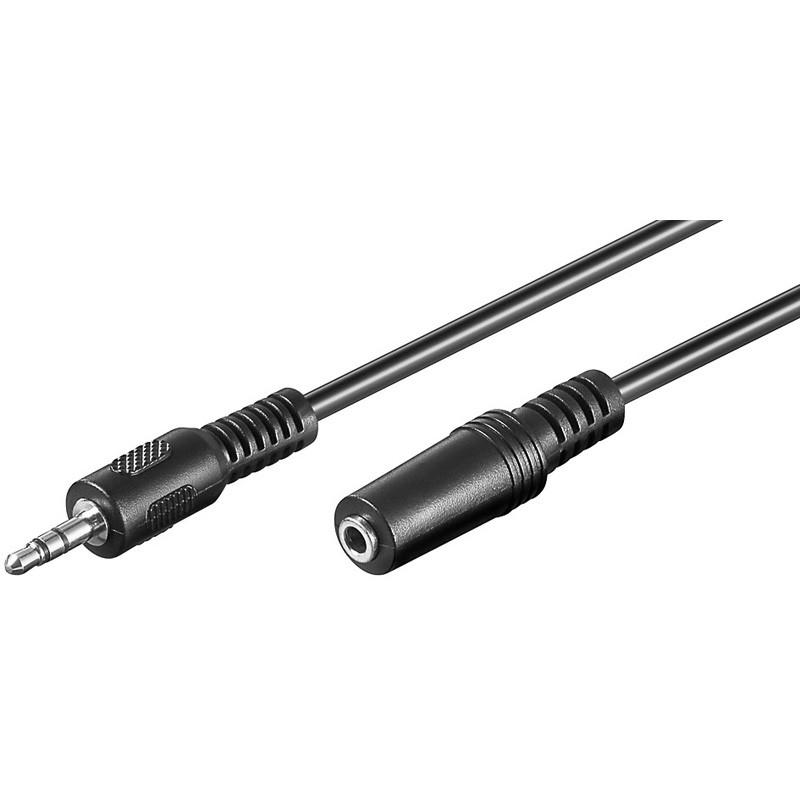 Cable JACK 3,5 ST Macho-Hembra