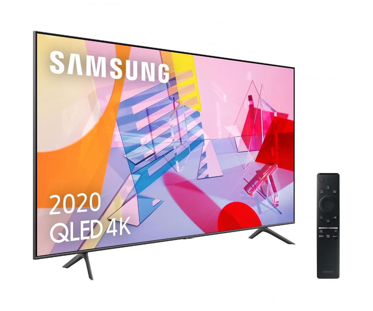 Samsung qe75q60t 2020 televisor 75`` qled