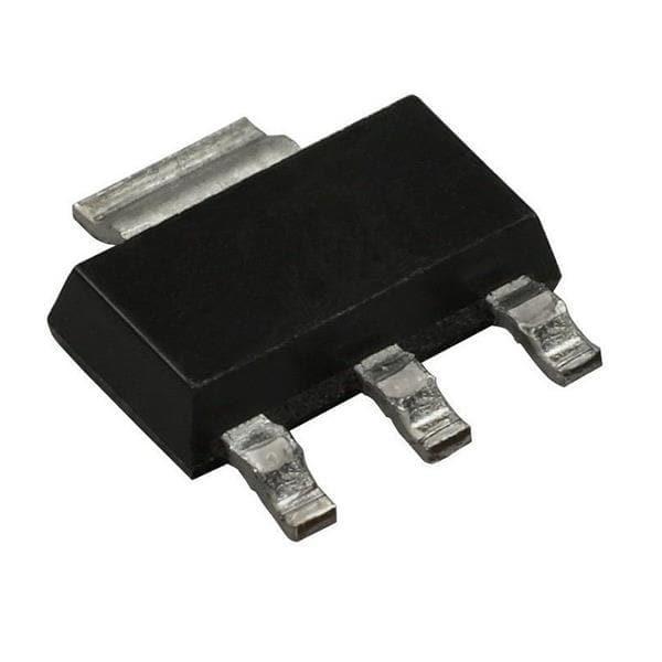 Transistor N-Mosfet 60V 1A 3+TAB-PIN SOT223