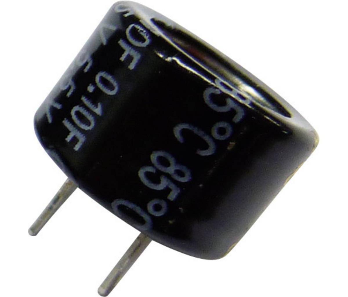 Condensador Electrolitico 0,1 Faradio 5