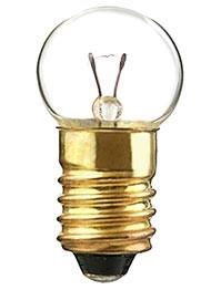 Bombilla Filamento E10 24v 2.4w