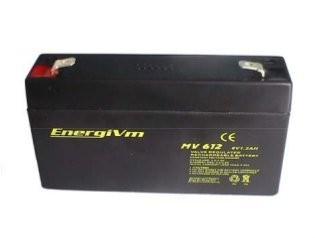 Bateria PLOMO AGM 6V/1,2Ah 97x24