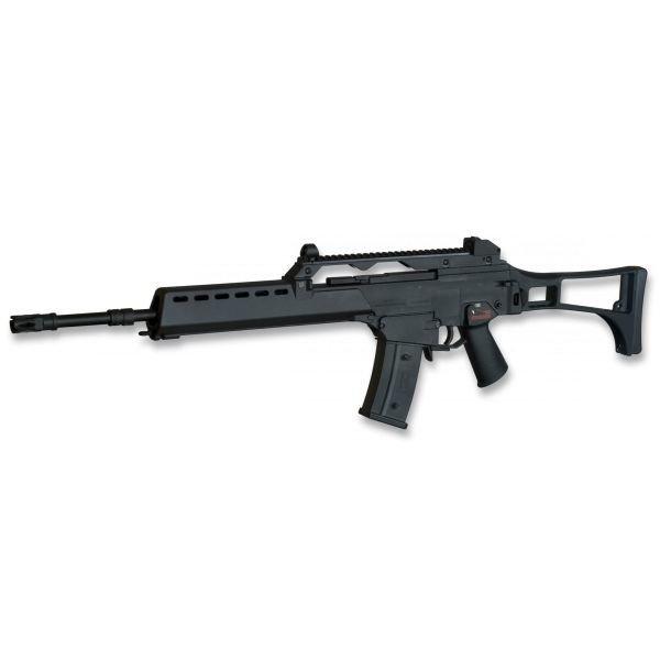 Fusil G36E Airsoft el?ctrico SRC Serie Alta de Fibra 2965g Contiene Metal Gear Box Versi?n II  6mm Incluye Accesorios 35796