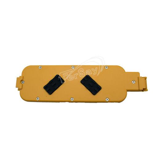 Base 4 tomas con protector de sobrecargas Negra Electro DH 36.255 8430552085385
