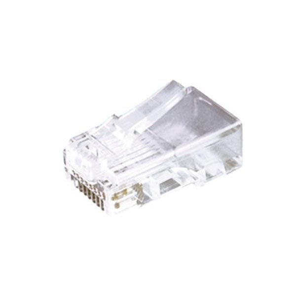 Conectores telefónicos modulares 4 contactos Electro