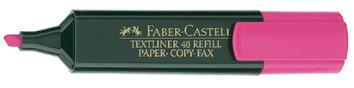 Faber-castell 154828 marcador 1 pieza(s) rosa
