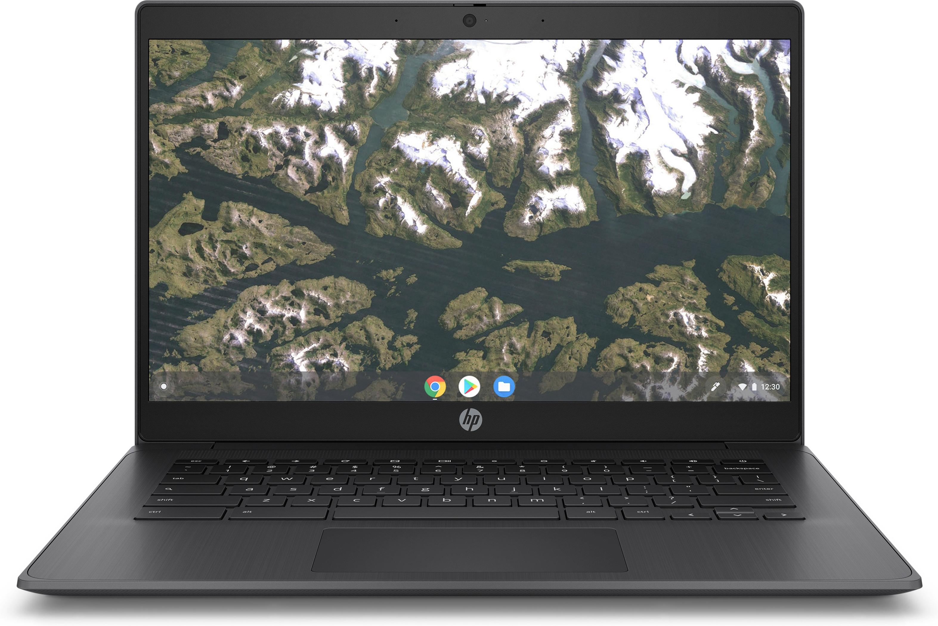 HP Chromebook 14 G6 Negro 35
