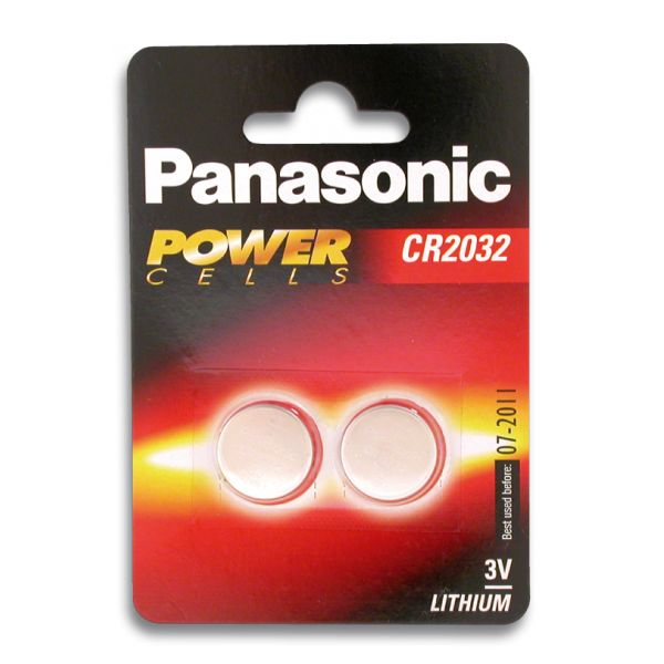 Pila de Boton Panasonic Cr2032 3v