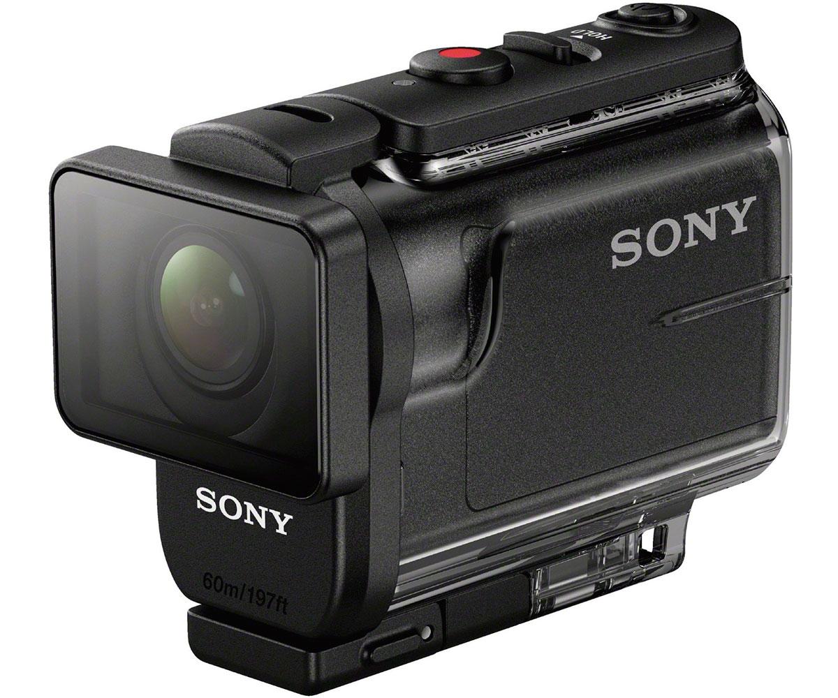 Sony action cam hdras50b negro cámara