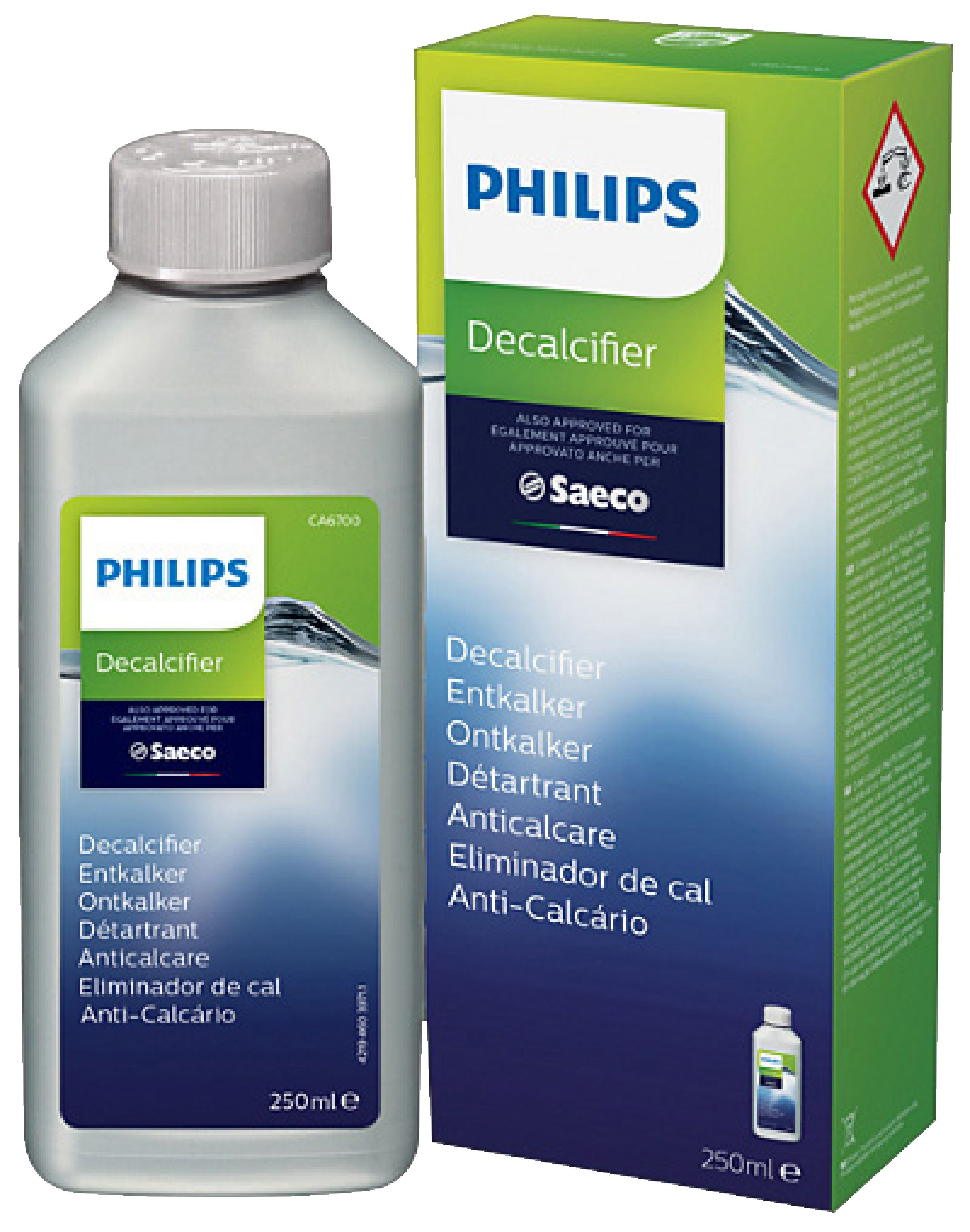 Philips Descalcificador para cafeteras expresso Saeco