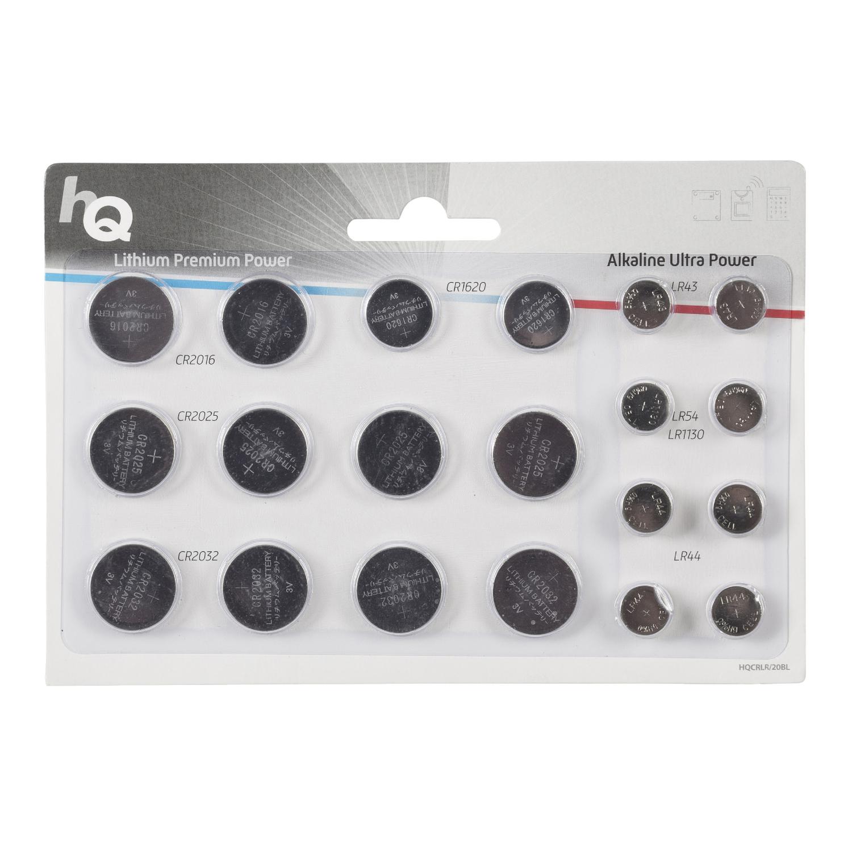 HQ Pila de botón de litio