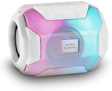 Mars Gaming MSBAXW, Altavoz Bluetooth RGB