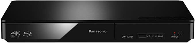 Panasonic DMP-BDT184EG reproductor de CD/Blu-Ray Reproductor