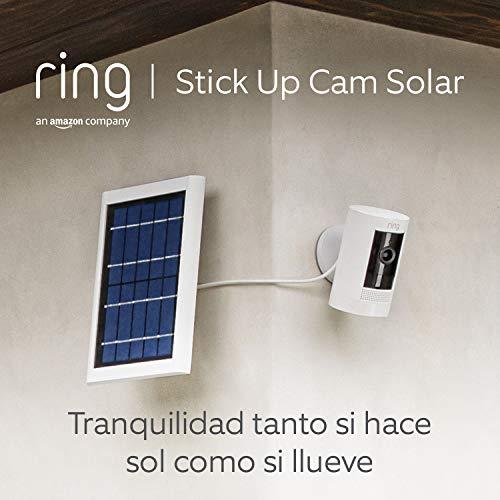 Ring Stick Up Cam Solar, cámara