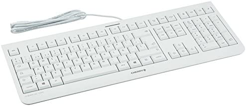 Cherry teclado kc 1000 blanco
