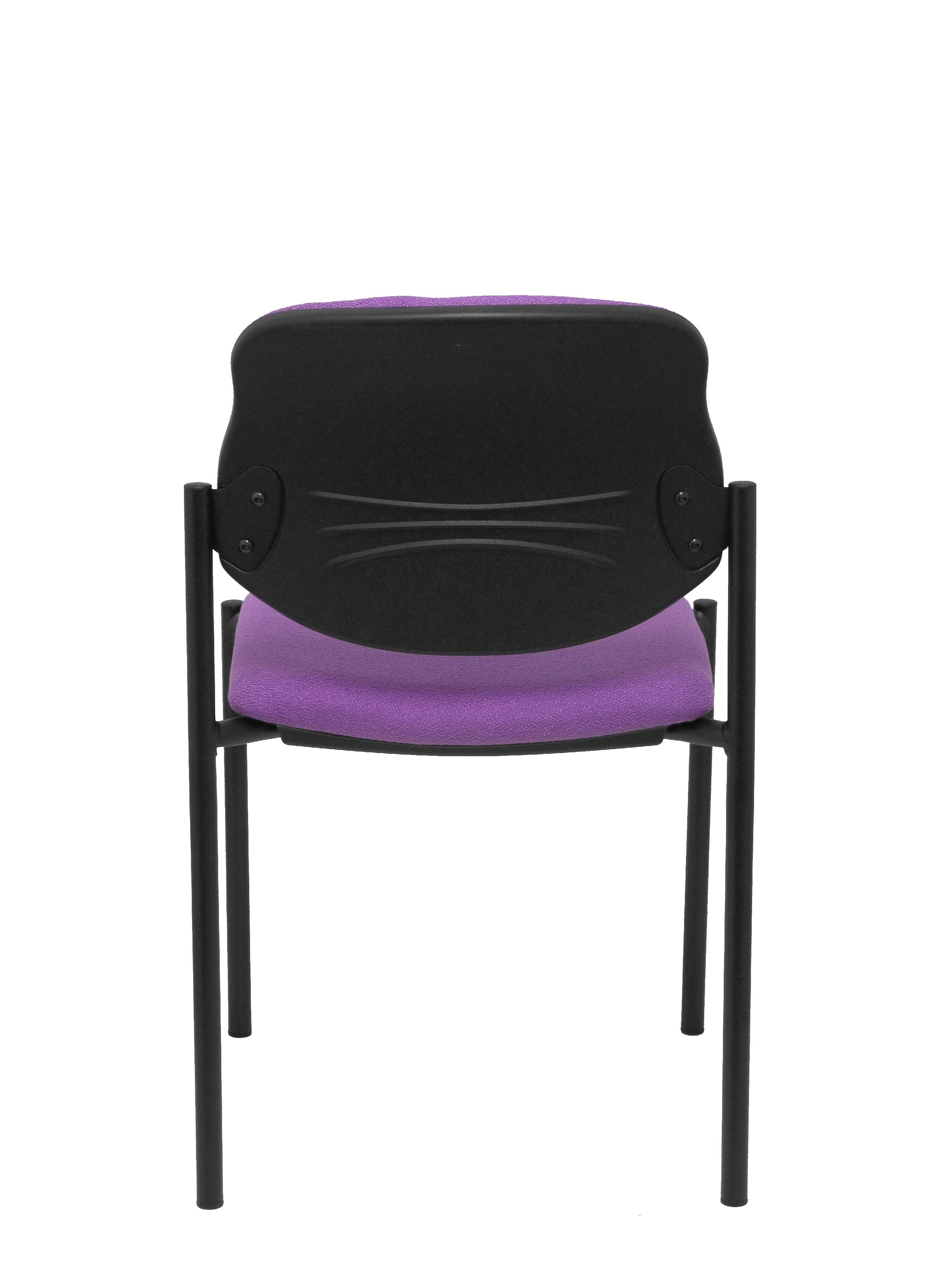 Stuhl befestigt Villalgordo bali fliederfarbenes Gestell