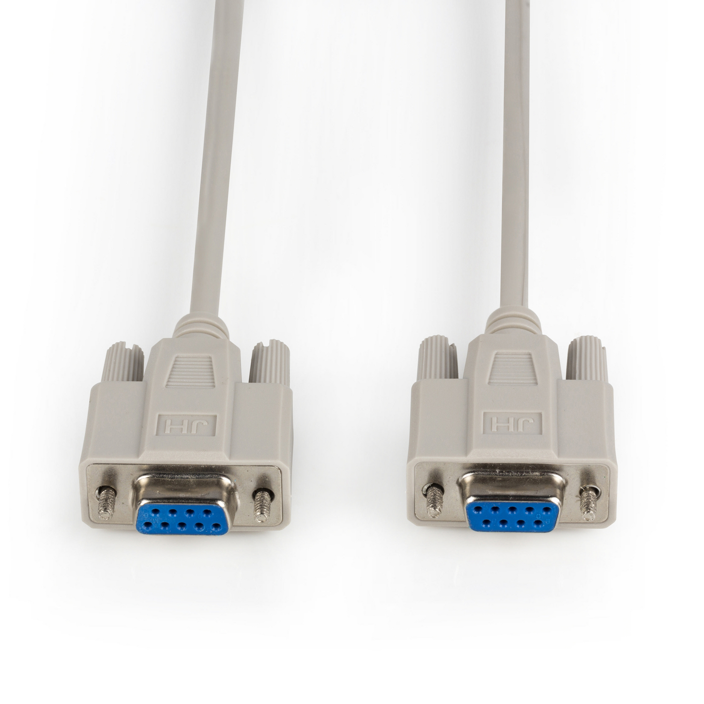 Valueline Seriell Adapter D-Sub Buchse 15-polig D-Sub Buchse 15-polig Metall