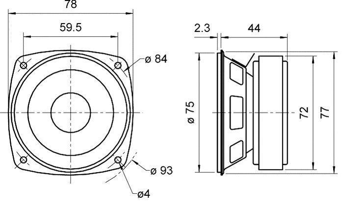 Ct24uv01 Universal ISO Reemplazo Single Din Stereo de montaje de montaje de jaula