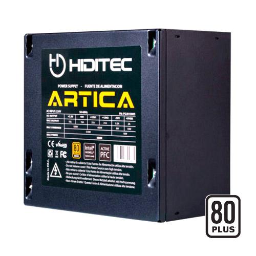 Fuente Alimentacion Hiditec Atx 500w Artica