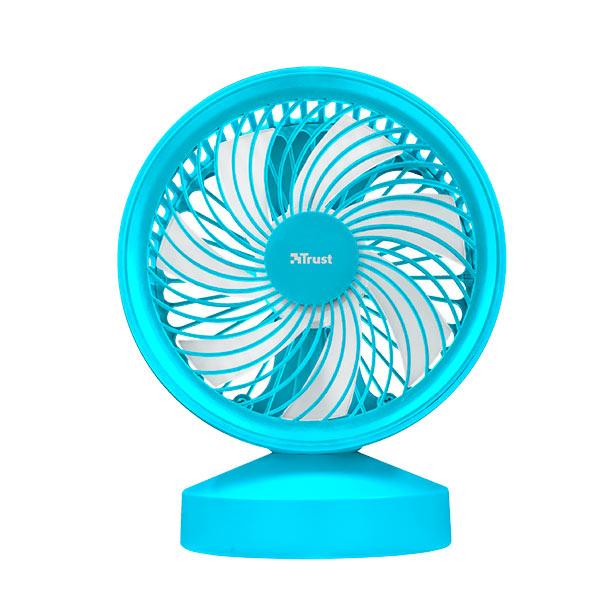 Ventilador Usb Trust Ventu Blue Con