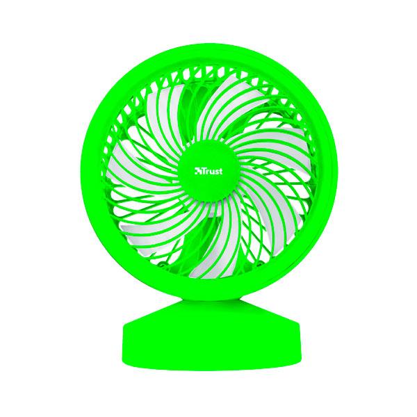 Ventilador Usb Trust Ventu Green Con