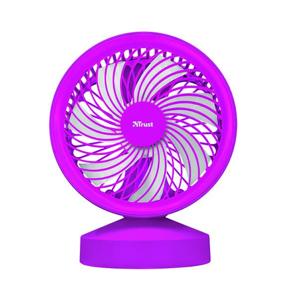 Ventilador Usb Trust Ventu Purple Con