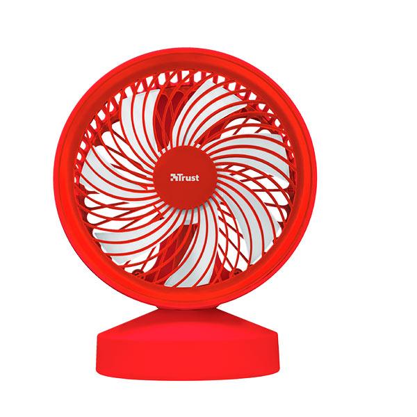 Ventilador Usb Trust Ventu Red Con