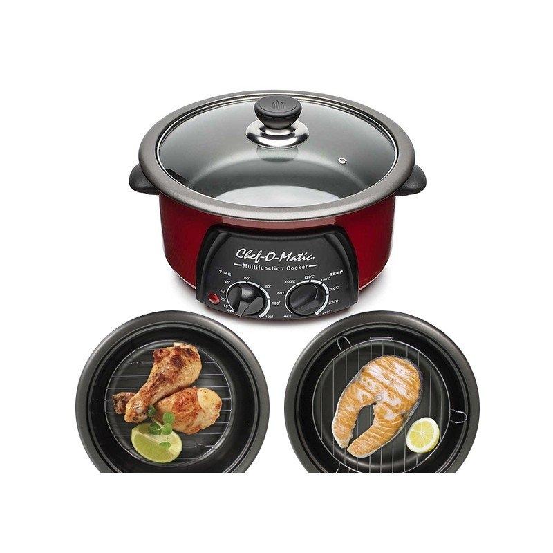Outlet robot de cocina chef o matic 12 funciones en 1 con tapa de cristal rec ebay - Robot cocina chef o matic ...