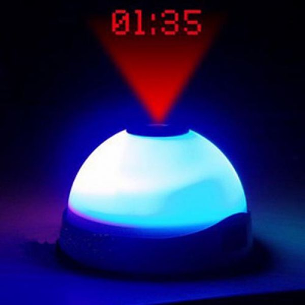 OUTLET Despertador con reloj digital proyectado
