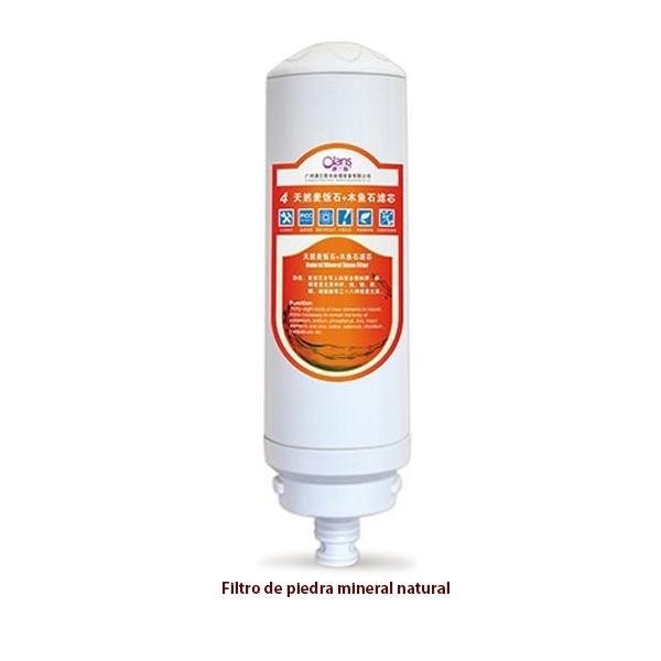 Filtro de piedra mineral natural para