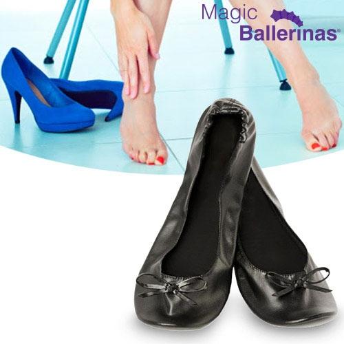 OUTLET Zapatillas Bailarinas Manoletinas Magic Ballerinas