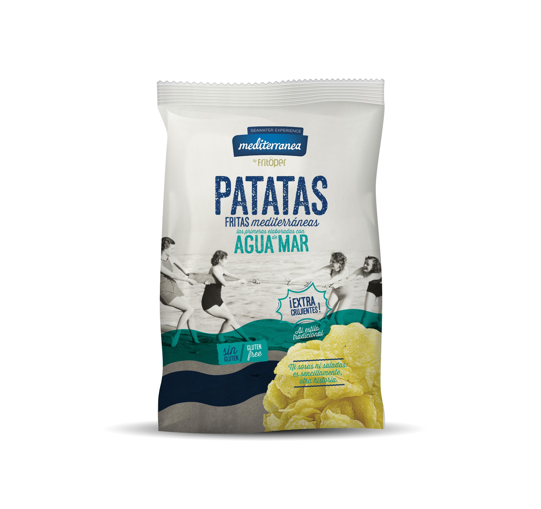 Patatas fritas Mediterranea elaboradas con agua