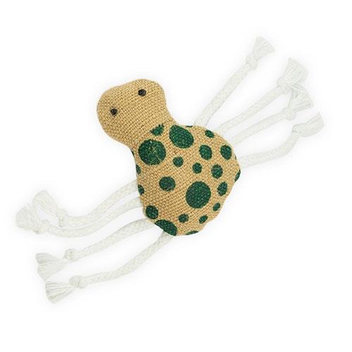 Araña peluche con hierba gatera entretenido