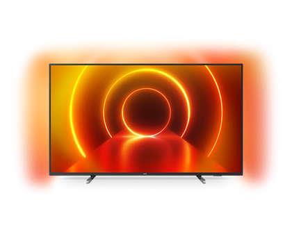 TV philips 65pulgadas led 4k uhd